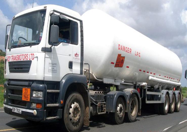 حمل گاز LPG